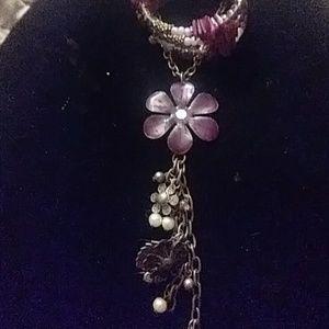 Jewelry - Purple necklace/bracelet